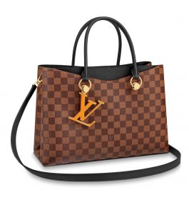 Cartera  Louis Vuitton Riverside Damier